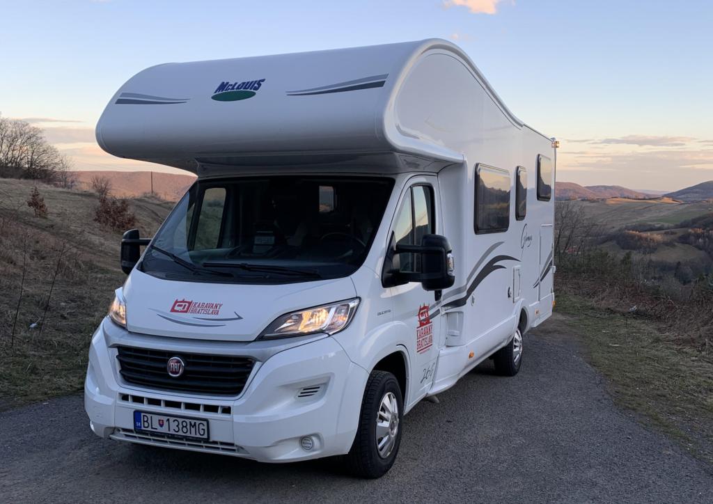 Test karavanu McLOUIS Glamys 326 – Karavany Bratislava