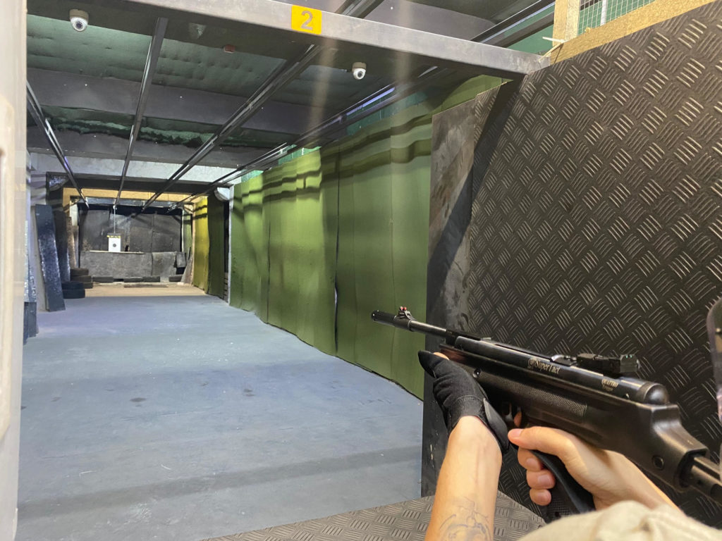 Vzduchová karabína Hatsan 25 SuperTact, kal. 4,5mm
