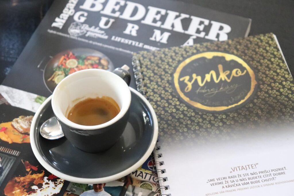ZRNKO dobrej kávy – Kaviareň a pražiareň v Ružomberku